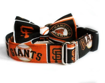 SF Giants Collar | Baseball | Dog Collar | Male Dog Collar | San Francisco