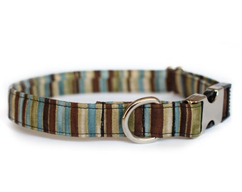 Stripes Collars | Pet Collar | Male Dog Collar | Large Dog Collar | Small Dog Collar | Gift for Pet Lovers | Gift for Dog Lovers