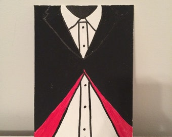 "Doctor Who ""Twelfth Doctor's Costume"" Hand Painted Canvas"