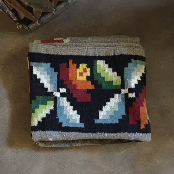 Items Similar To Wool Rug Blanket Indian Or Mexican