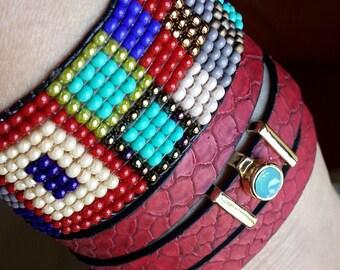bracelet, beads, handmade jewelry