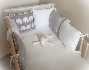 Handmade ❤️ baby bedding set ❤️ 11-PC. ❤️ 120x90cm