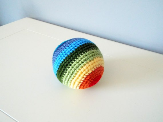 Amigurumi Ball How To : Handmade crochet ball toy Amigurumi ball Kids toy Baby toys