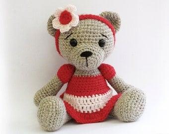 Amigurumi Care Bears Pattern : PATTERN : Bear-teddy Amigurumi bear pattern-Bear by Anatillea