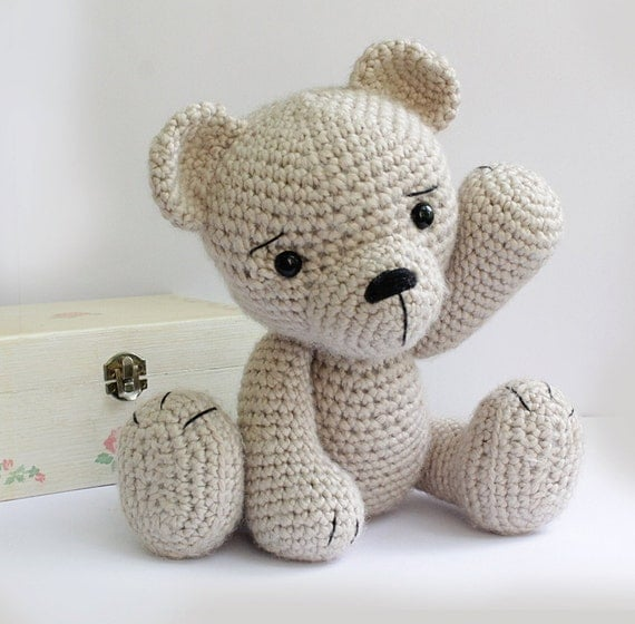 Amigurumi Baby Shower Bears : PATTERN : Amigurumi-Bear-teddy bear-classic by Anatillea ...