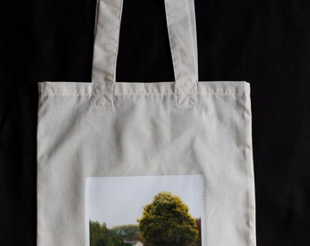 Cotton Book Bag with a Photo Application