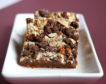 Chocotopia Bars - Chocolate, Almond, Graham