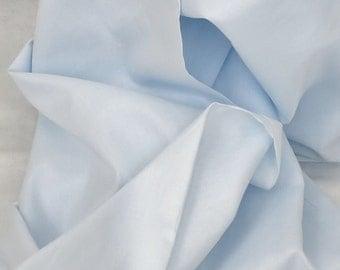 Light Blue Nelona Swiss Batiste, Cotton Batiste, Heirloom Fabric, Lingerie Fabric, Nursery Decor Fabric, Women's Blouse Fabric
