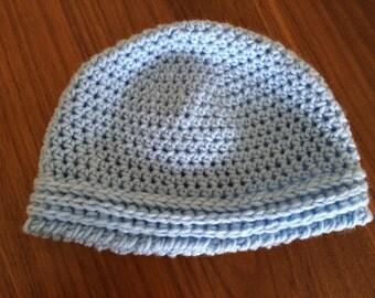 Cozy Crochet Baby Beanie - Boy and Girl