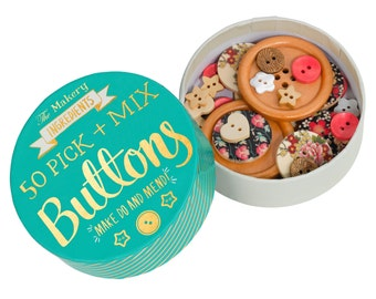 The Makery Pick and Mix Buttons