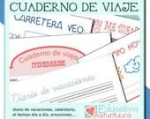 Cuaderno de viaje para niños - gallego