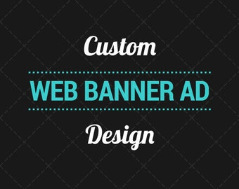 Custom Web Banner Design