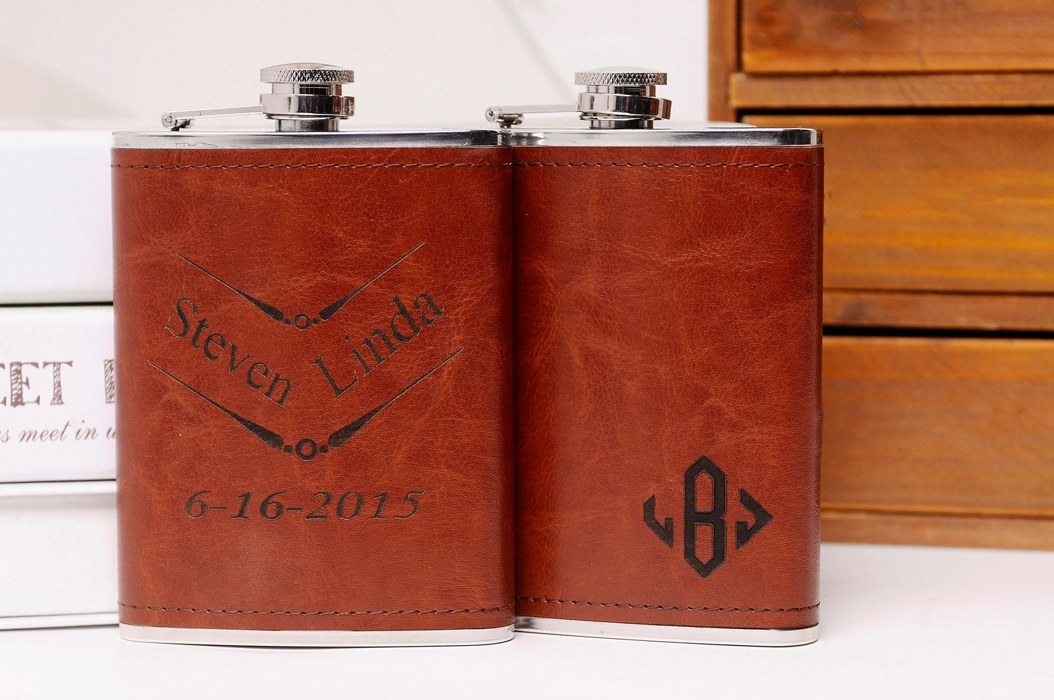 Cool Wedding Gifts For Groomsmen: Groomsman Flask Cool Groomsmen Gift Ideas By MarkGroomGift