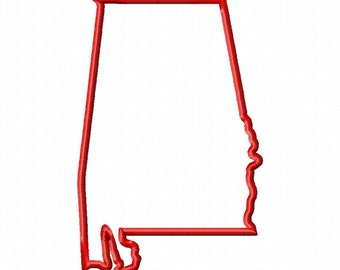 State of Alabama Applique