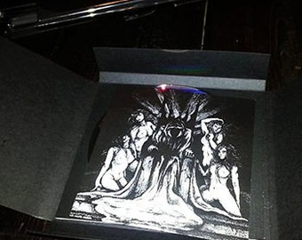 LAYR 'Hidden Realm' CDr - Limited edition. black metal. dark ambient. drone. noise.