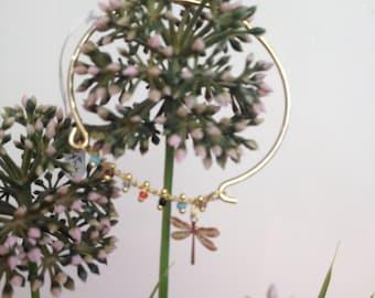 Spring bracelet dragonfly