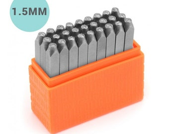 ImpressArt ® Basic Upper Case 1.5mm Letter Stamps