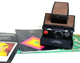 Polaroid SX-70 Land Camera Alpha 1 Model 2