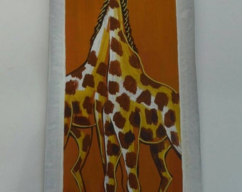 Two Giraffes Painting, Ghana