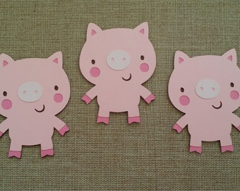 Pig Die Cut set of 3