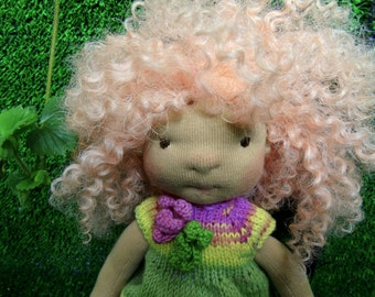 "SALE Waldorf doll 11,5 """