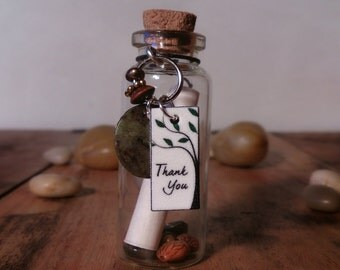 Message In A Bottle, Thank You!