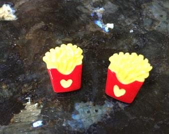 French Fry Earrings