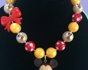 Baby Mickey Necklace