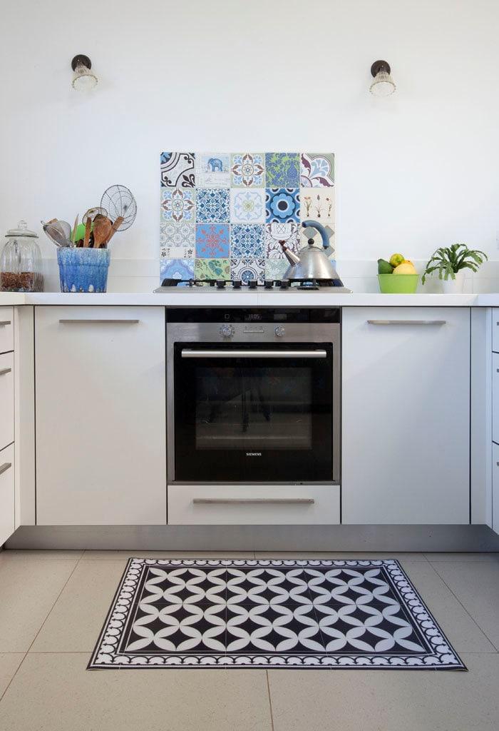 Pvc vinile mat piastrelle pattern decorativi tappeto linoleum for Piastrelle vinile