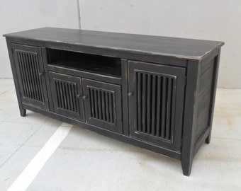 Entertainment Center, TV Stand, Media Console, Reclaimed Wood, Console Cabinet, Rustic, Handmade