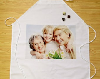 Photo Apron ** Great Personalized Gift for Him or Her * FREE SHIPPING