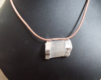 Sparkling quartz necklace
