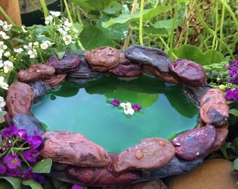 Fairytale Fairy Garden Pond - Fairy Garden Accessory