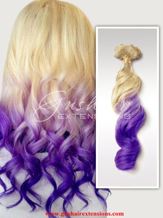 Clip In Pastel Hair Extensions 75
