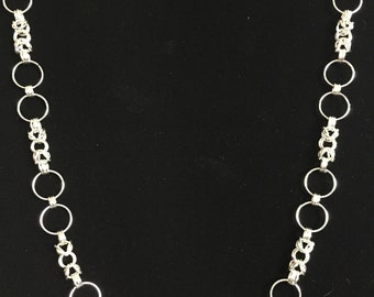 Long Byzantine Chainmail Necklace