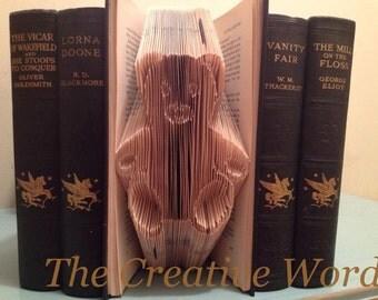 Teddy Bear Book Folding Pattern
