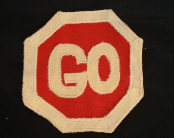 Go Stop Sign Patch