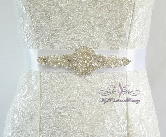 Bridal Sash from My Radiant Beauty