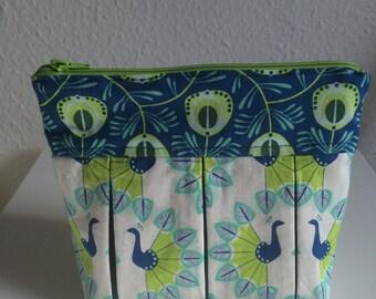Peacock Makeup bags