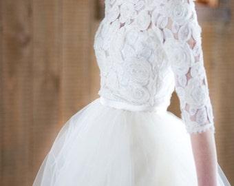 White Tulle Super Full Length Bridesmaid Wedding Gown Long Tulle Skirt