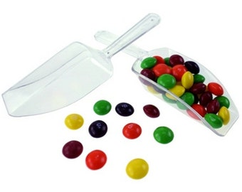 Miniature Candy Scoops - (12 pieces) - Free Shipping!