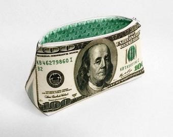 Hundred Dollar Bill Money Bag