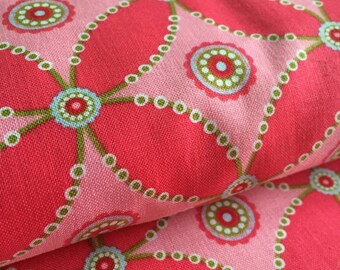 Criss Cross PINK from Whimsy by Pillow and Maxfield for Michael Miller Fabric