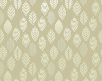 Reusable Wall Stencil Allover Leaf Pattern. Available In 10 or 14 Mil Mylar at no extra charge. SKU: S0039