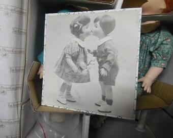 Ashton Drake First Kiss dolls