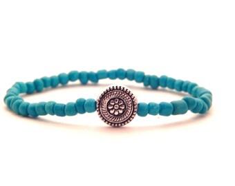 Circle Flower Bracelet