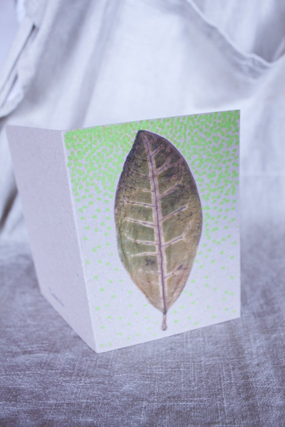 Natural Leaf Card