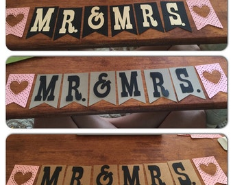 SALE!!!! MR. & Mrs. Banner