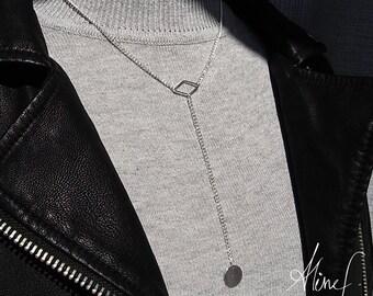 Long necklace diamond - Long necklace diamond