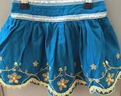 Vintage boho childrens skirt 1-2 years